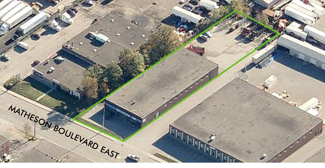 1221 Matheson Boulevard East Mississauga Industrial Space For Lease