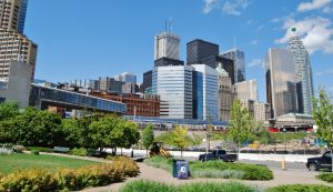 Downtown Toronto Canada Business Buildings