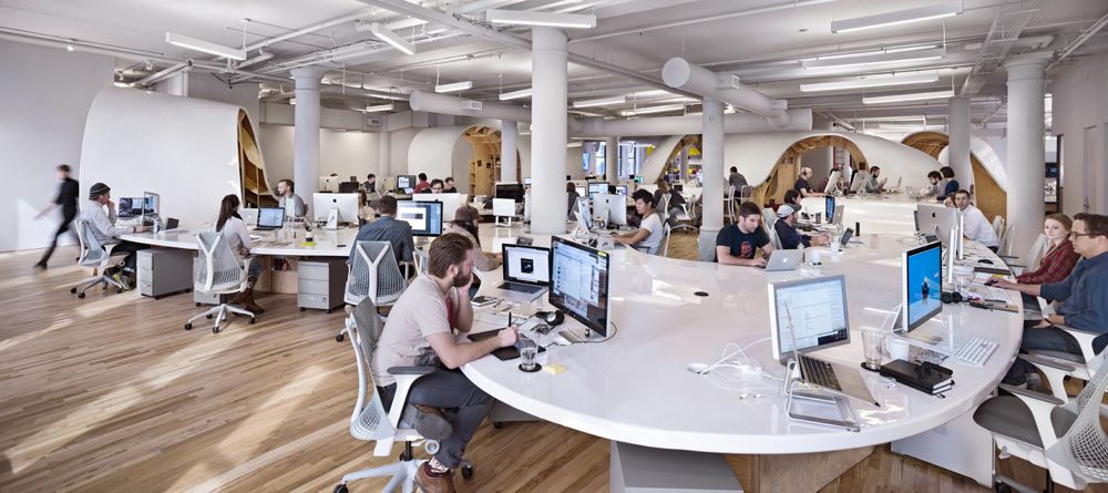 Modern Office Workplace in Toronto